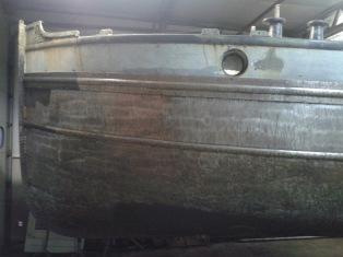 Teer verwijderen met naaldenbikker en Perago